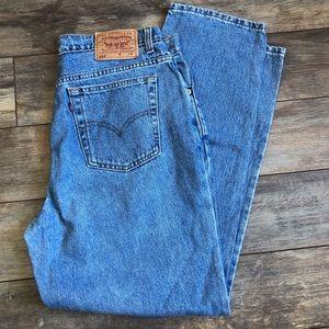 VTG Levi's 512 Slim Fit Straight Leg Jeans